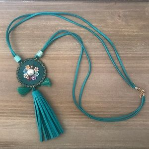 Jewelry - Beaded tassel bohemian boho revival native Navajo